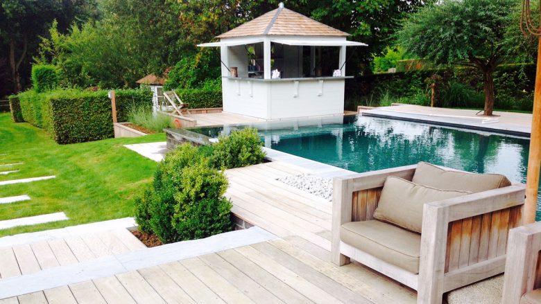 «La piscine comme reflet de l'âme du jardin»