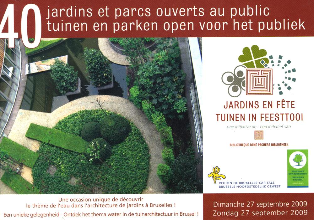 Jardins en fête édition 2010