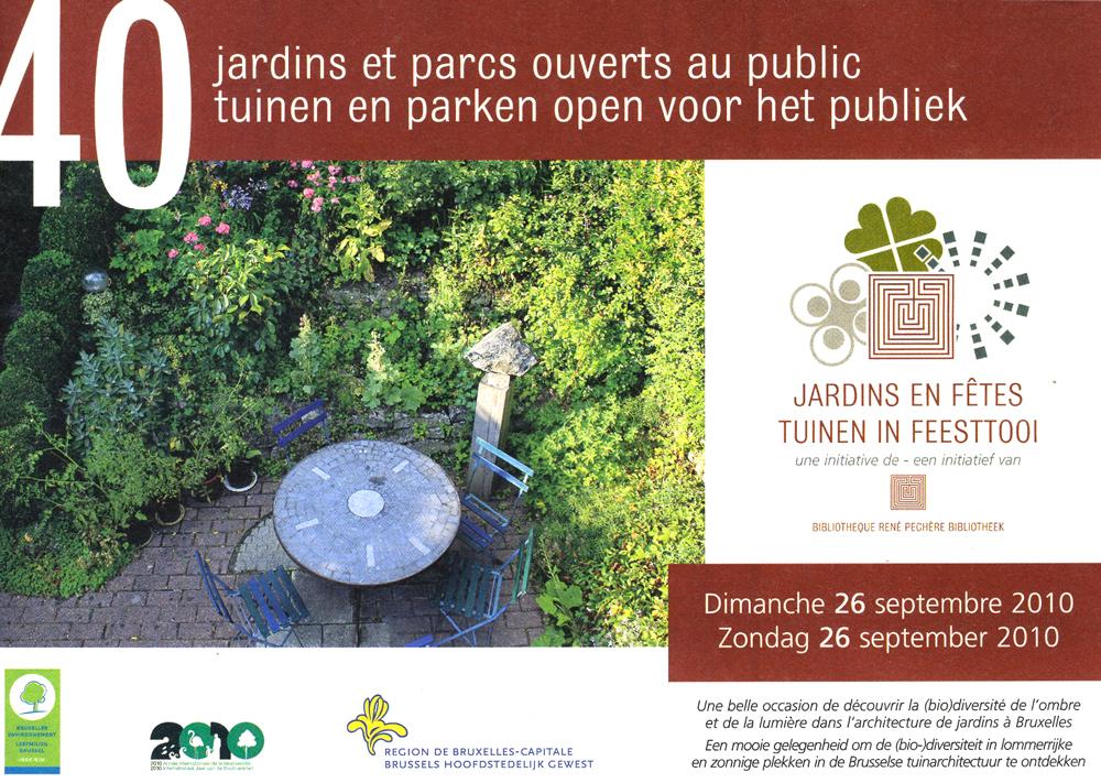 Jardins en fête édition 2009
